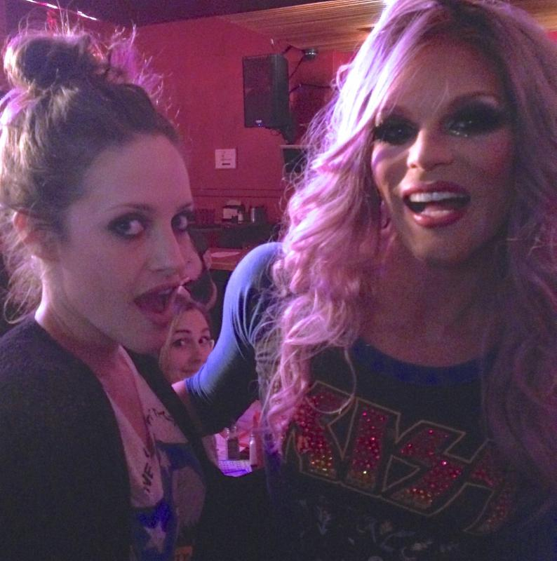 Carly Chaikin-Willam Belli