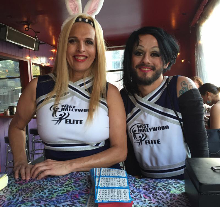 West Hollywood Elite Cheerleaders