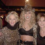 Tippi Hedren & Linda Blair