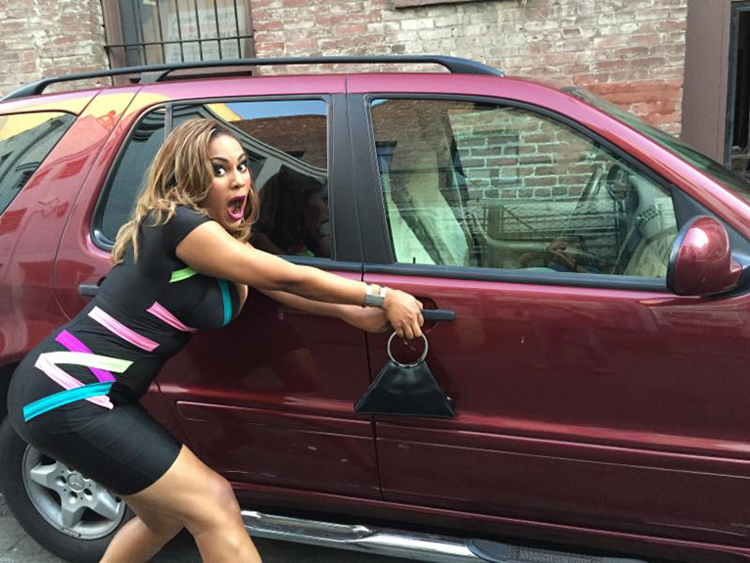 roxy-steals-car