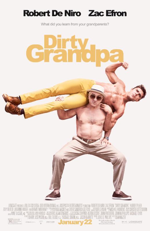 Flex Poster dirty grandpa