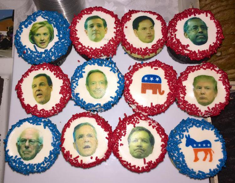 presidential cupcakes