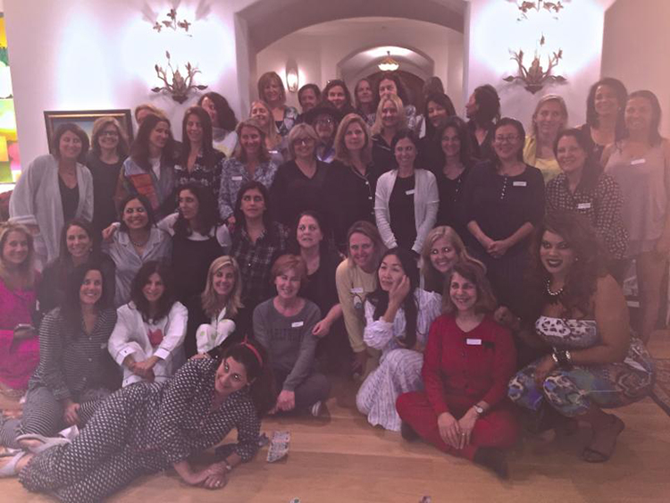 pajama party ladies